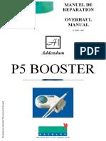 Satelec P-5 BOOSTER Addendum - Servicio