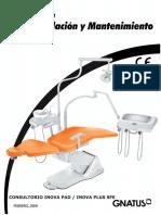 Manual de Instalación y Mantenimiento INOVA PAD, InOVA PLUS SFE 2009