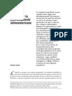 Laclau, Ernesto - La Deriva Populista Y La Centroizquierda Latinoamericana [2006].pdf
