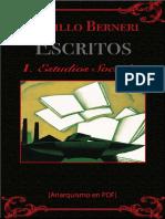 Berneri, Camillo - Escritos I (Estudios Sociales) [Anarquismo en PDF]