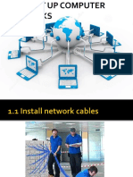 2 COC2.1 Install Network Cables