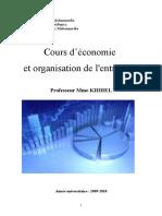 EOE Introduction Générale de l'Économie Et Organisation de l