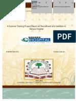 92407075-Sahara-Hopital-Project-Report.doc