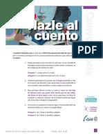 Convocatoria Hazle Al Cuento   FeNaL2017
