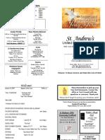 St Andrews Bulletin 0108