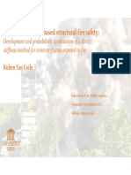 Presentation Towards reliability-based structural fire safety