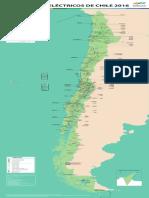 Mapa Sistemas Electricos de Chile Nov 2016