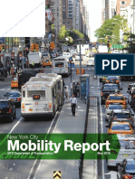 NYCDOT Mobility [Bus] Report, May 2016