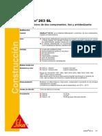 FT-7045-01-10 Sikafloor 263 SL