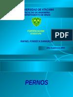 Fonseca Fortificacion Con Pernos y Cables