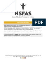 2017 New NSFAS Application Form