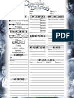 CofD EphemeralBeings 1-Page Interactive