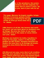 Altar Book