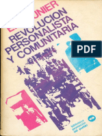 Mounier, Emmanuel - Revolución Personalista y Comunitaria