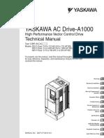 a1000 - Manual Tecnico