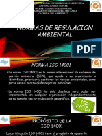 Normas de Regulacion Ambiental