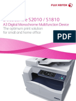 DocuCentre S2010-S1810 Brochure_2a4b