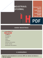 Gases Industriais - H2 (Reforma)
