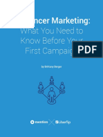Influencer Marketing What You Need to Know Before Your First Campaign