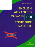 English Advanced Vocabulary and Structure Practice - Maciej Matasek