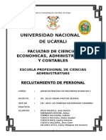 Reclutamiento de Personal Final