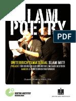 Slam Poetry - Unterrichtsmaterial