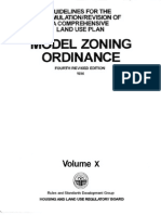HLURB Model Zoning Ordinance 4th ed. 1996