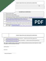 Checklist Obrigatorio Para Contratação