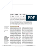 Gene Trap Mutagenesis