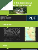 Clima Y Tiempo de La Provincia de Huaral