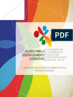 Acordo para o Desenvolvimento Sustentável - Rio+20