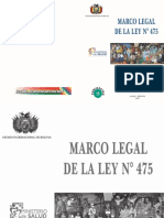 Marco Legal Ley 475