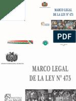 Marco Legal Ley 475
