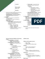 GEN PSYCH Chapter 4 - Sensory System Handouts