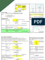 Cálculo de Dosificacion de Cloro