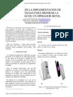 Analisis de La Implementacion de Femtoceldas Para Mejorar La Capacidad de Un Operador Movil