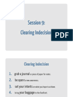 09 Clearing Indecision Workbook