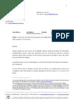 analyse de la CPVP du 06/10/2008