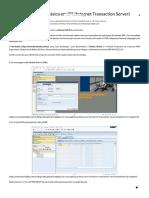 Criar Uma Aplicação Básica Em ITS (Inte...Ransaction Server) - Blog Da Bertholdo