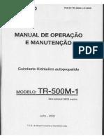 Manual de Operação de Guindastes Hidráulico Autopropelido