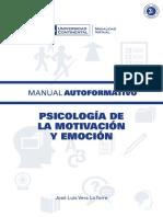 A0385 Psicologia de La Motivacion y Emocion MAU01