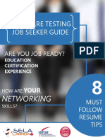 Software Testing Job Seeker Guide