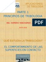 1.- Principios de Tribologia