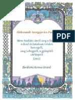 Puskin - Mese Szaltán cárról