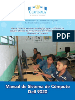 Manual DELL9020