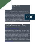Cuernavaca y Taxco recorrido.docx