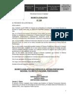 DECRETO LEGISLATIVO N° 1328 - 07ENE2016 - FPRTALECE EL SISTEMA NACIONAL PENINTENCIARIO Y EL INPE