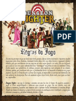 Jogo de Tabuleiro Dungeon Fighter Regras