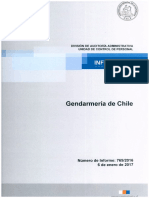 Informe Final 769-16 Gendarmeria de Chile Auditoria en Materia de Personal y en Remuneraciones - Enero 2017