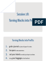 18 Turning Blocks Into Profits Workbook